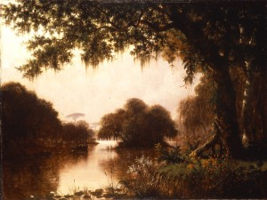 """Longfellow's poem """"Evangeline"""" tells the story of the Acadians driven from their Louisiana homes."""