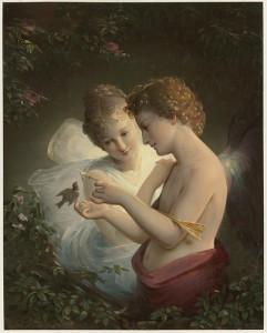 Can Cupid's love triumph despite Psyche's foolish curiosity?
