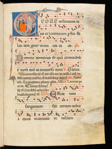 A 14th century medieval music manuscript from northern Italy, from the Virtual Manuscript Libray of Switzerland.