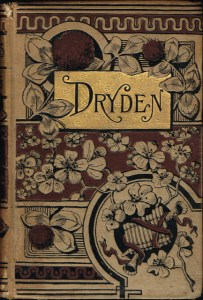 """A book of the poetry of John Dryden, famous for his allegory """"The Hind and the Panther."""""""