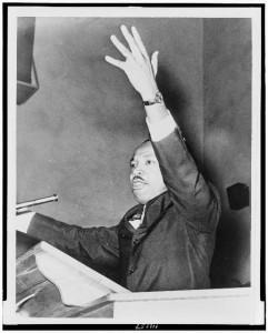 Martin Luther King Jr. delivered stirring rhetoric.
