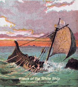 The White Ship by Dante Gabriel Rossetti