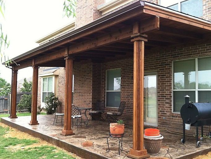 Patio Covers Dallas - Covered Patio, Patio Cover, Patio ... on Patio Cover Ideas Images id=61567