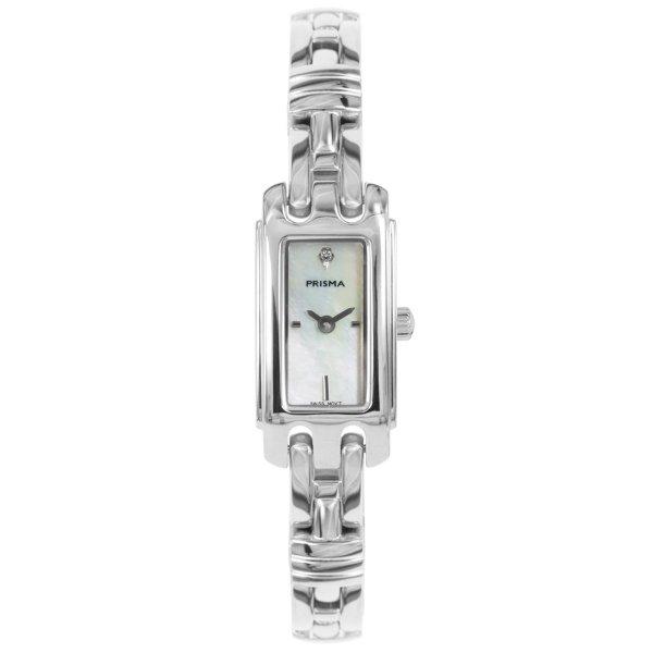 Fonkelnieuw Prisma Horloge P.1760 Dames Solid Edelstaal Zwitsers Uurwerk TN-54