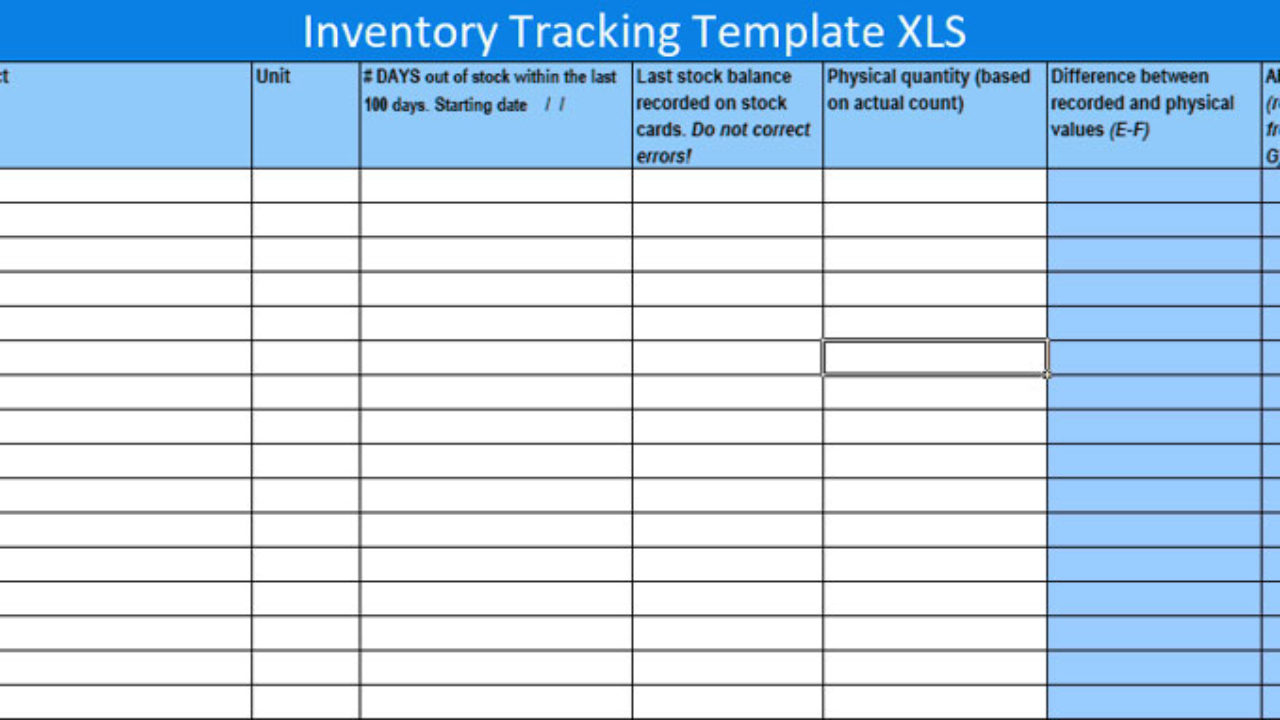 Sometimes it's really hard to track stock or inventory in a normal spreadsheet. Free Inventory Tracking Excel Template Excelonist