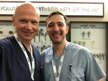 Dr. Czarnecki and Dr. Kozanek are in Chicago teaching arthroscopic surgery to residents for the Arthroscopy Association of North America
