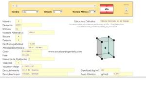 Tabla peridica ms de 60 propiedades de cada elemento excel tabla peridica urtaz Images