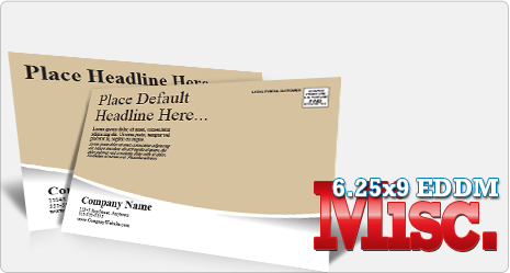 Don't see what you need? Every Door Direct Mail Postcard Template Miscellaneous