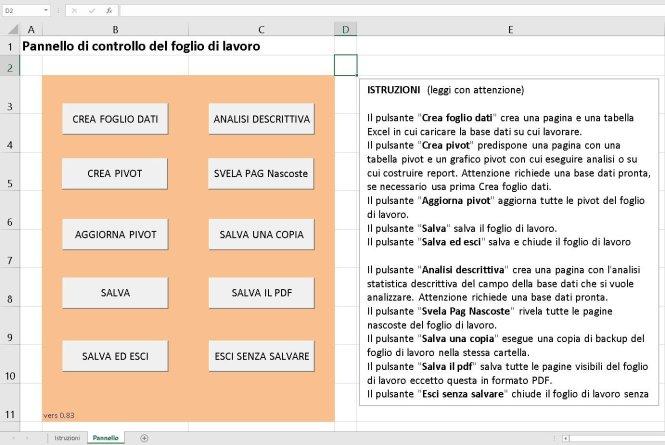 Macro vba - Pacchetto di automatismi di base Expro