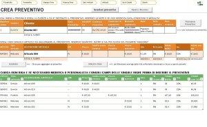 Foglio automatizzato che puoi realizzare alla fine dei corsi Excel avanzati
