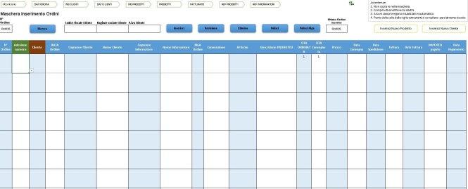 maschera multifunzione multirecord di Excel