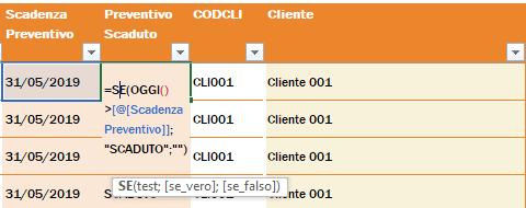 strumento per la compilazione assistita delle funzioni
