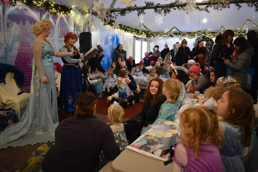 2019 Inaugural Frozen Tea Party
