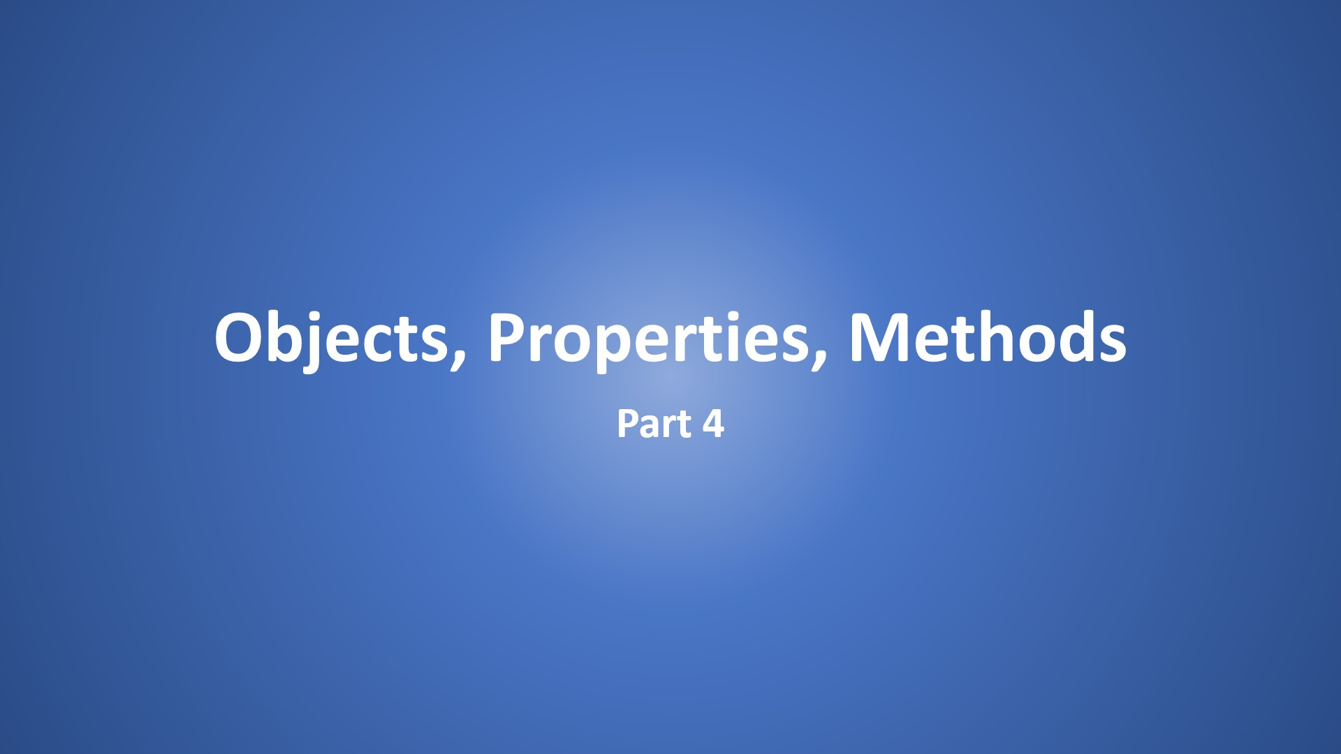 Objects Properties Methods Part 4 Excel Vba In Hindi
