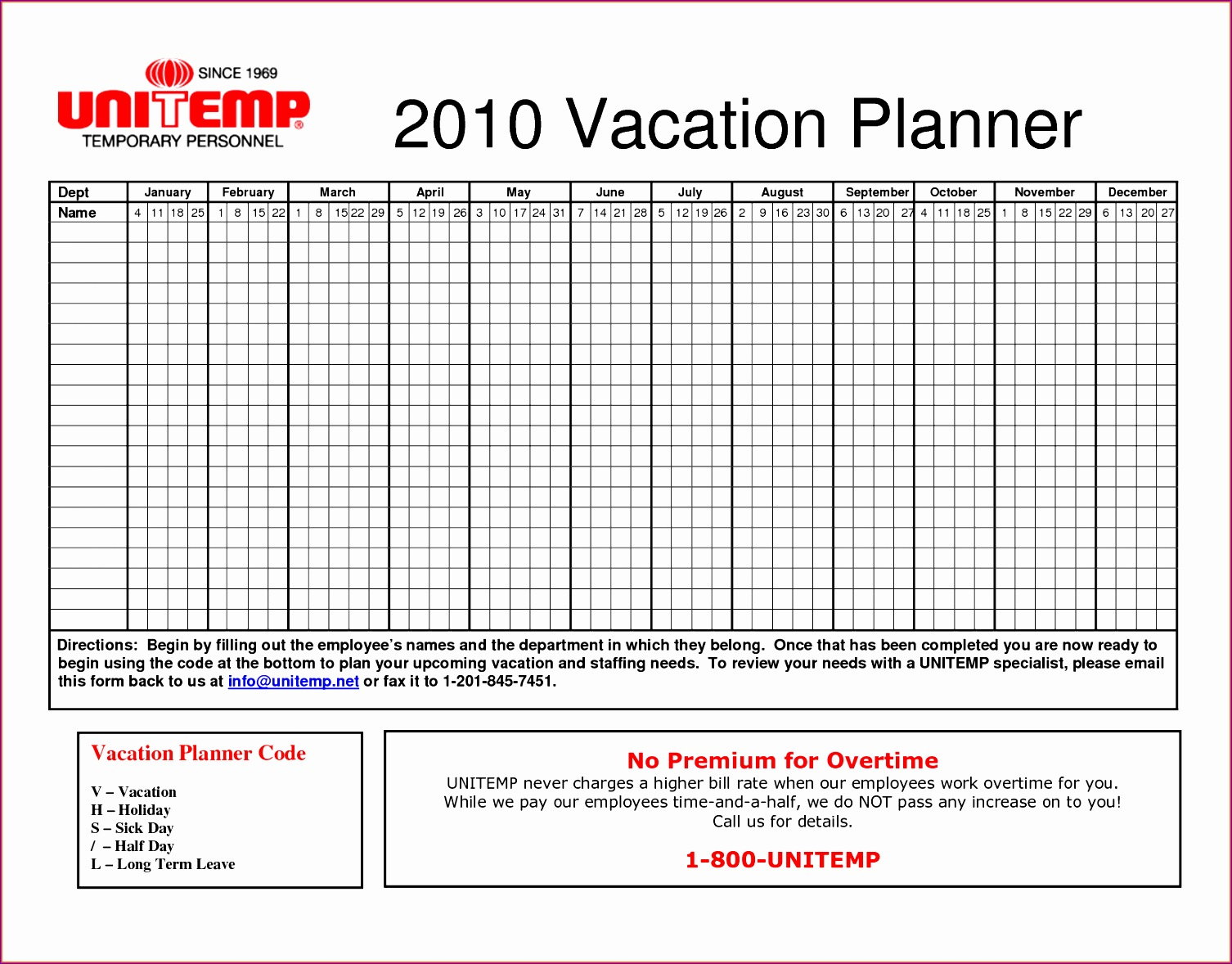 Annual Leave Planner Excel Template Mwzak Elegant Vacation