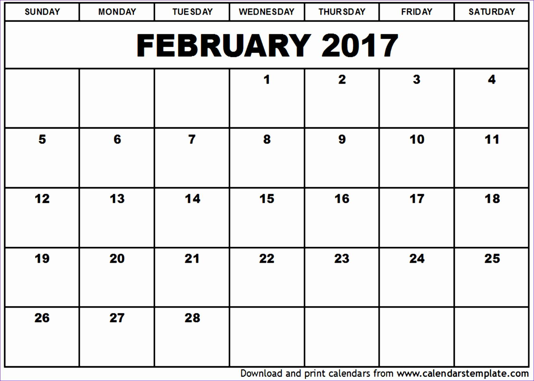 11 Blank Monthly Calendar Template Excel