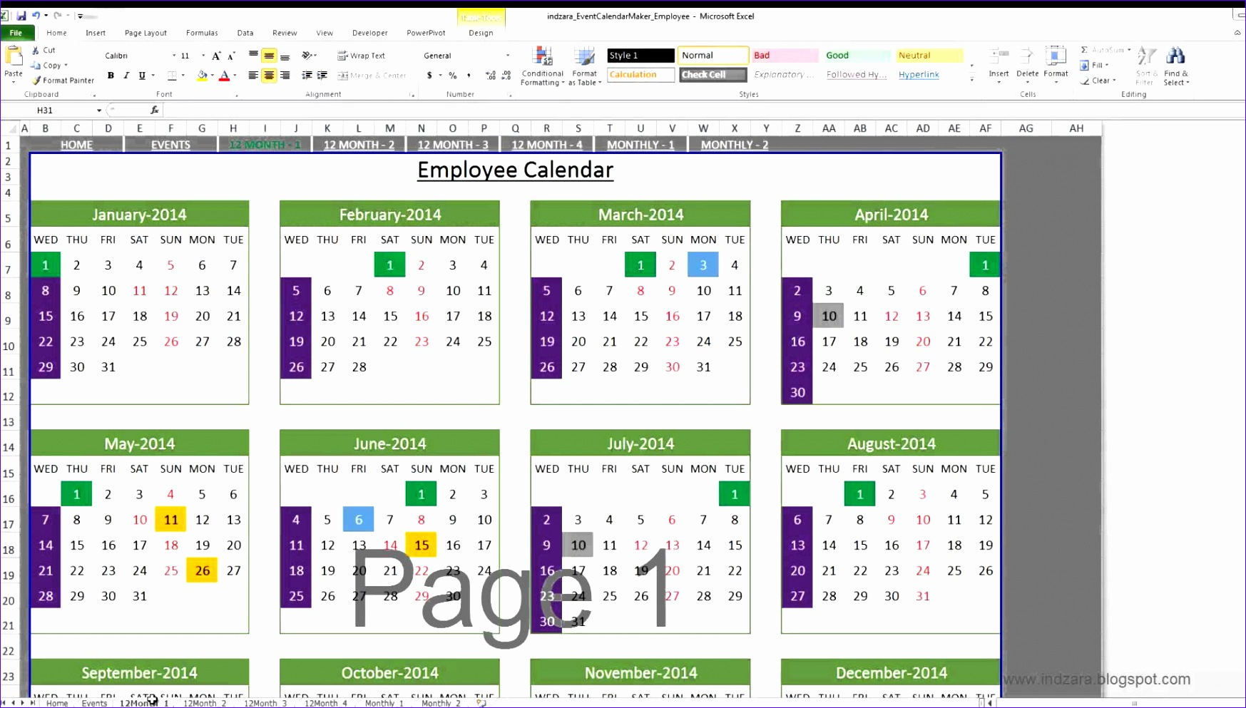 10 Capacity Planning Template In Excel Spreadsheet
