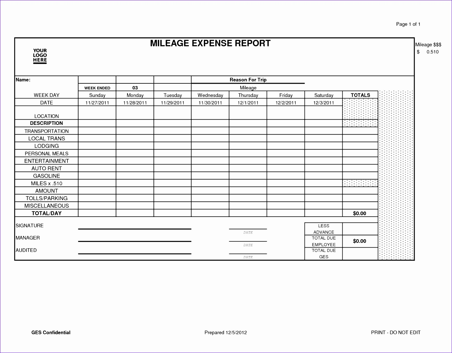 8 Excel Templates For Business Expenses