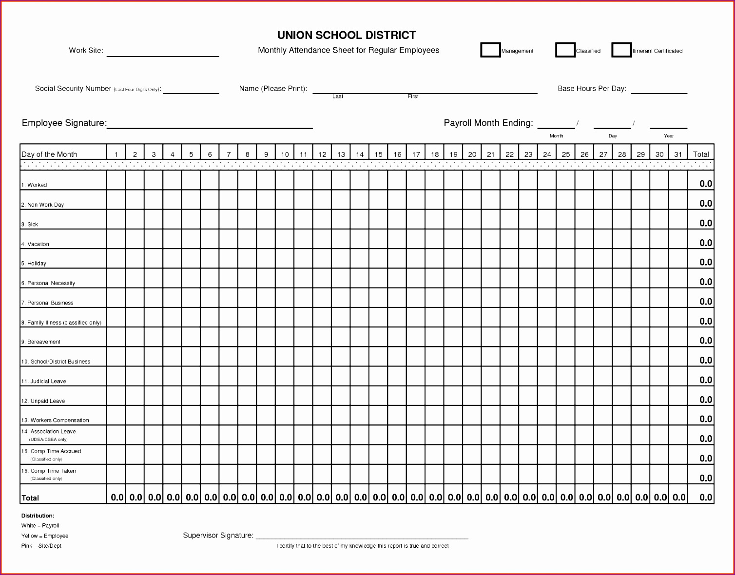 8 Excel Time Clock Template