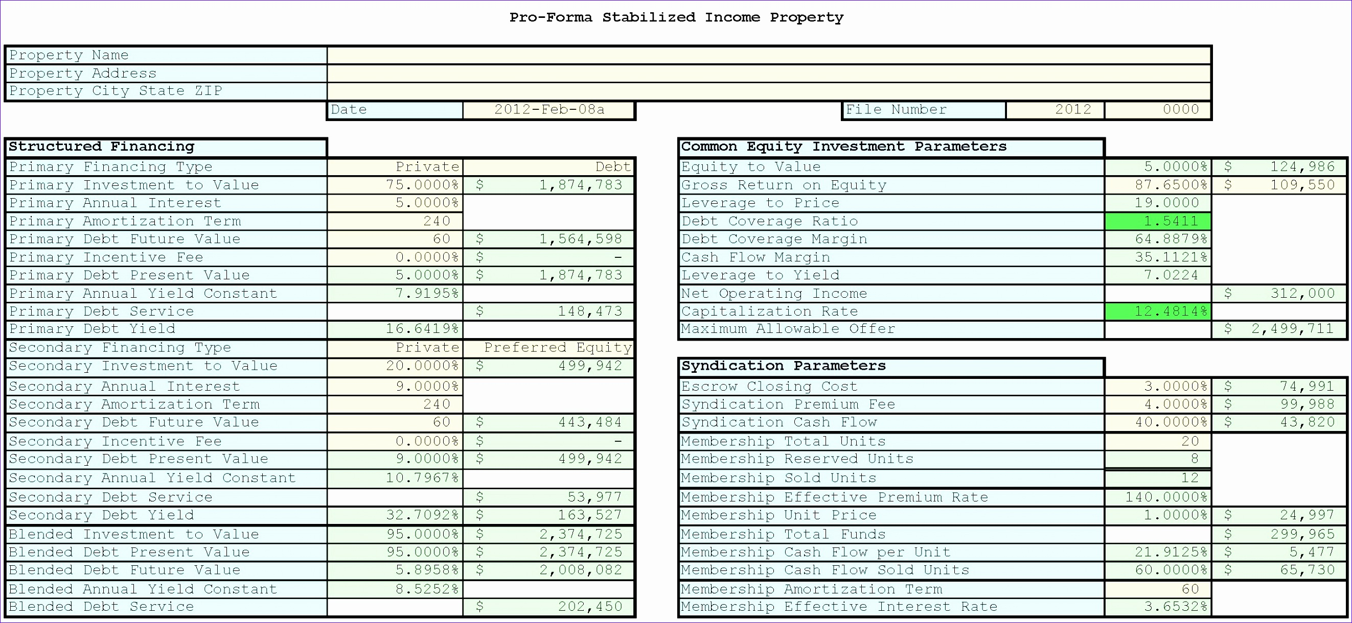 10 Financialysis Excel Templates