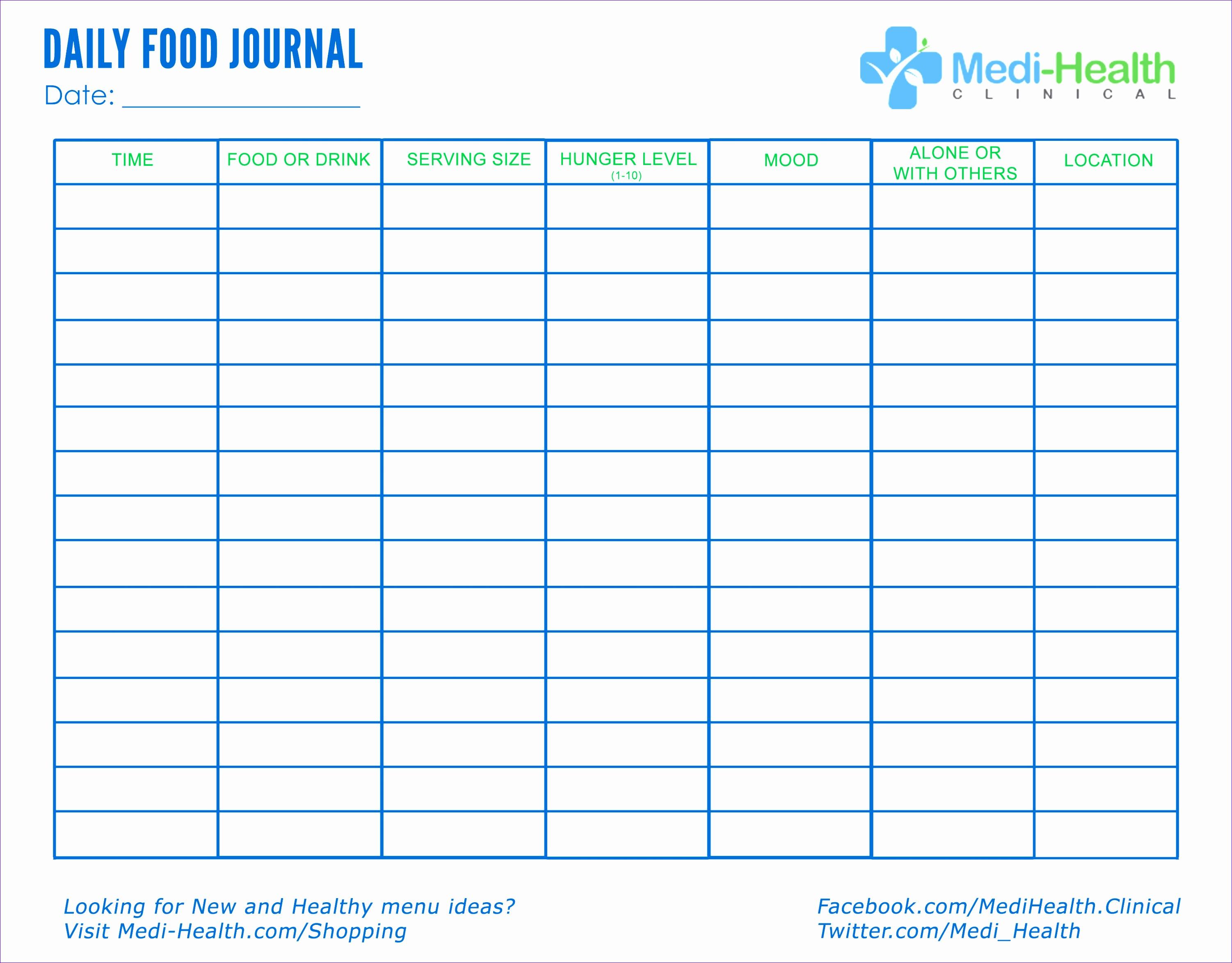 8 Food Fat Percentage Calculator Template