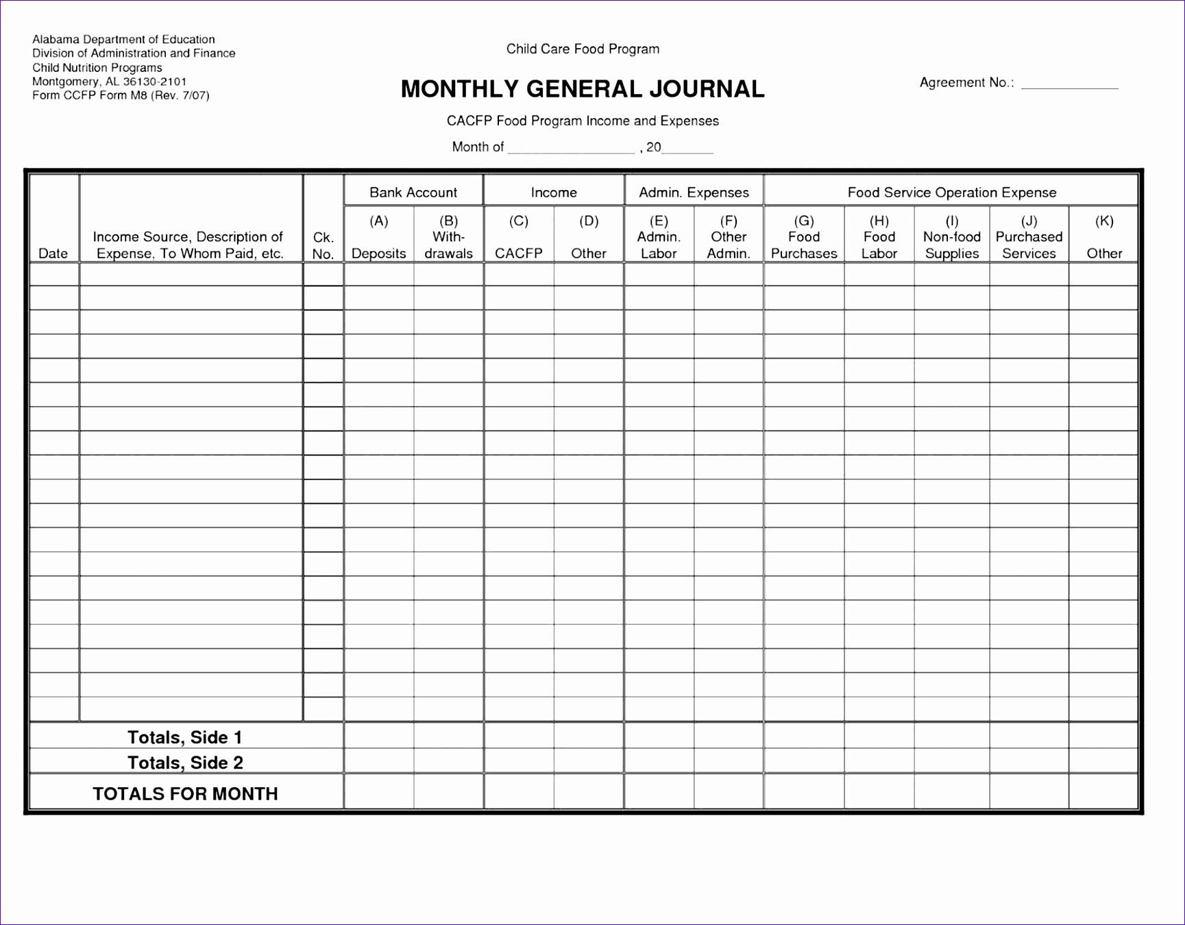 10 Ms Excel Checkbook Register Template