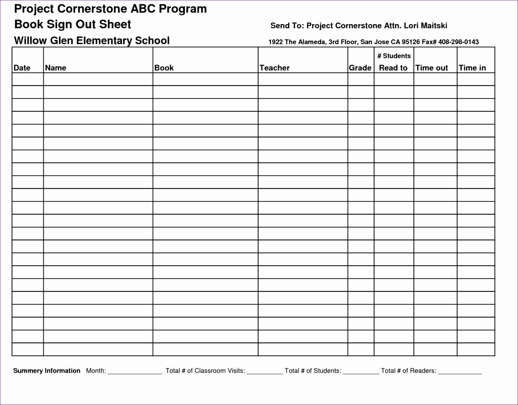 8 Potluck Sign Up Sheet Template Excel