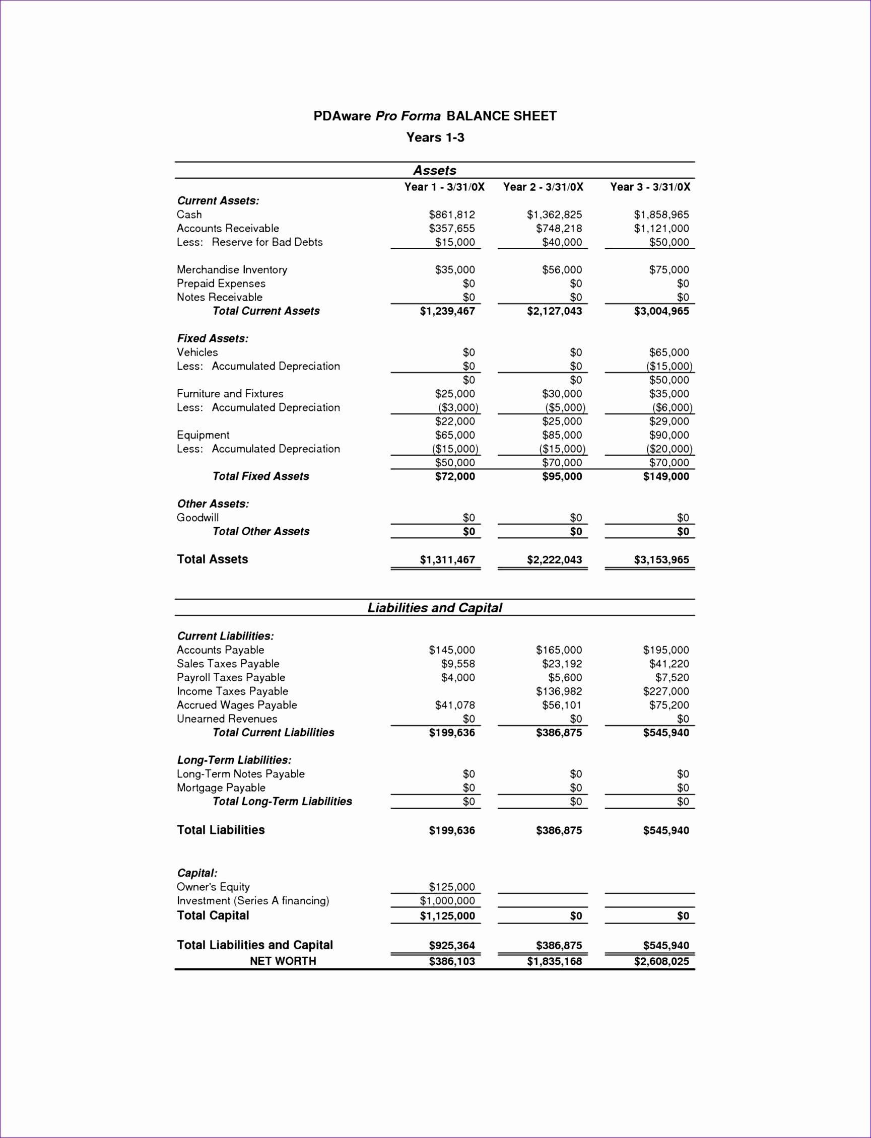 Cash Flow Statements Excel Worksheet