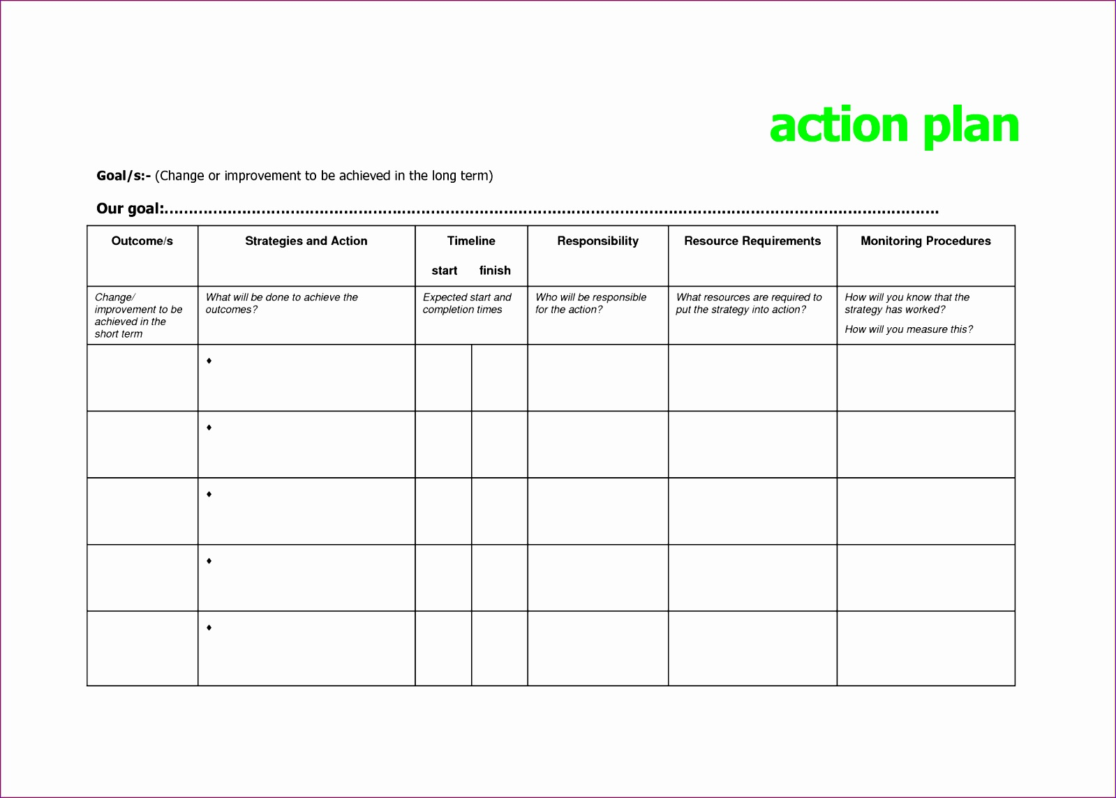 14 Resource Plan Template Excel