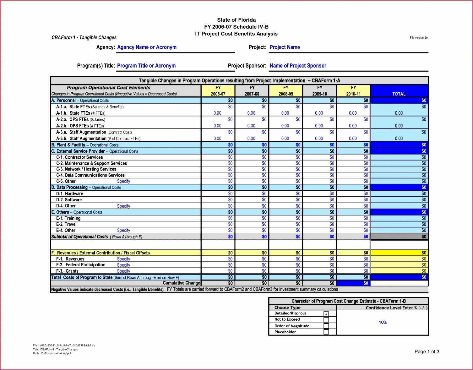 6 Server Checklist Template Excel