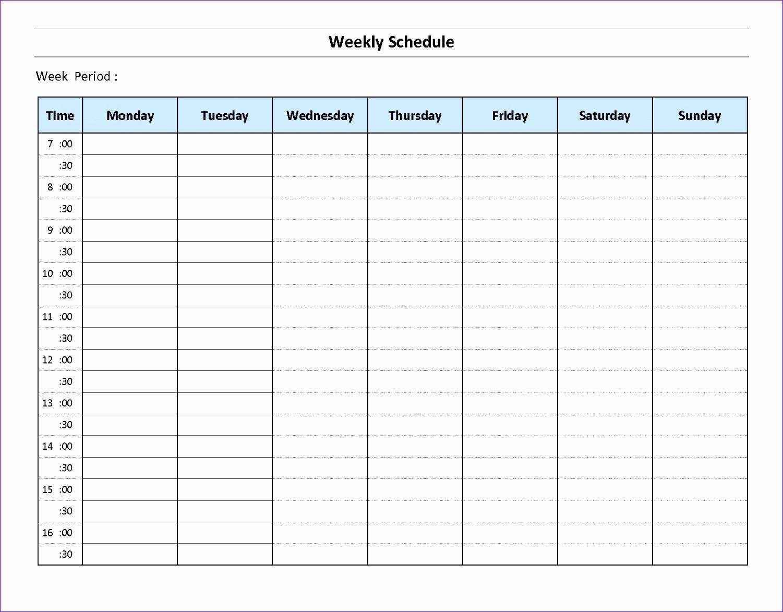 Work Hours Excel Template Fvxig Unique 168 Week Calendar Time Management