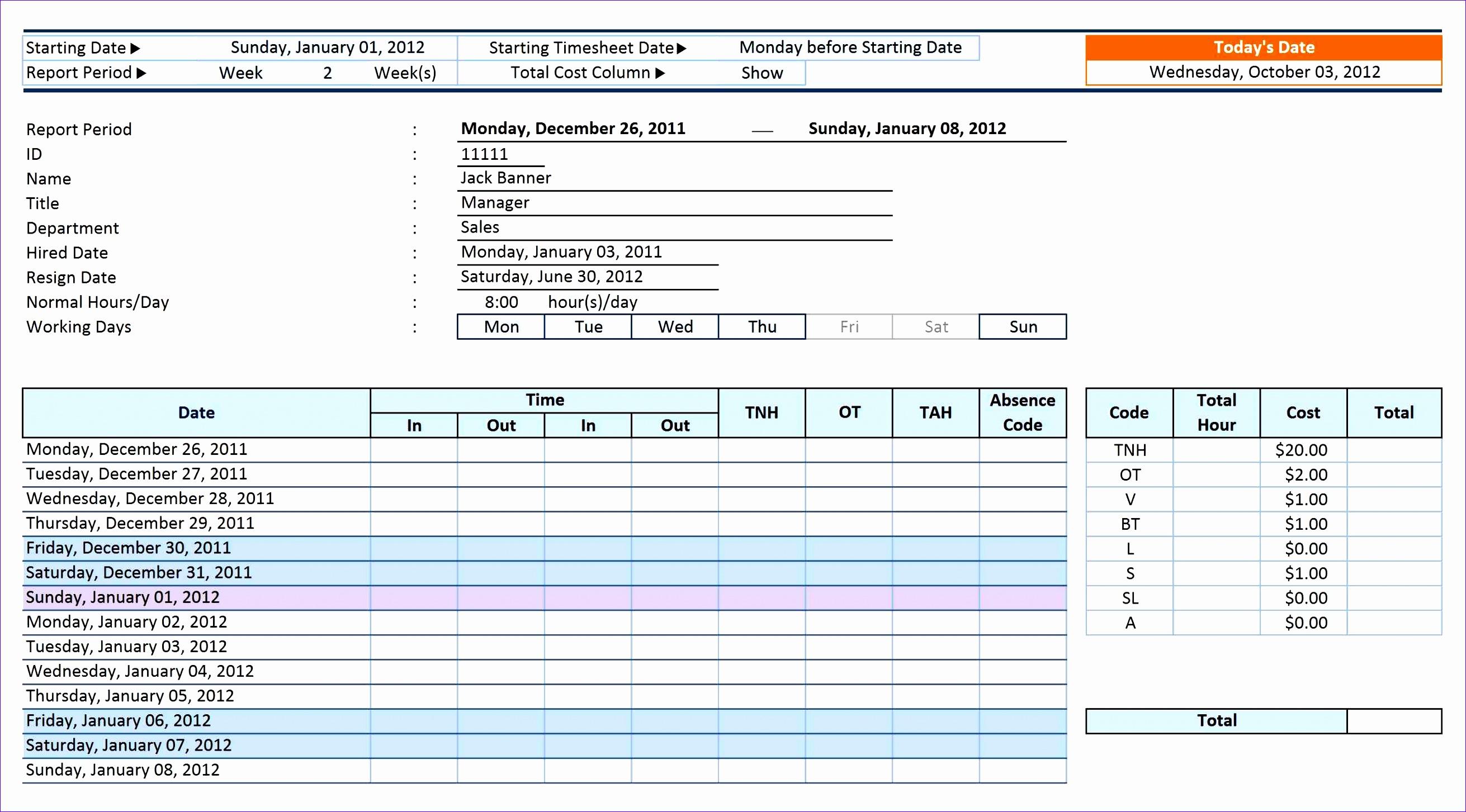 6 Workforce Planning Template Excel