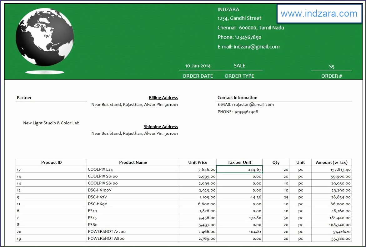 14 Retail Sales Tracking Template In Excel