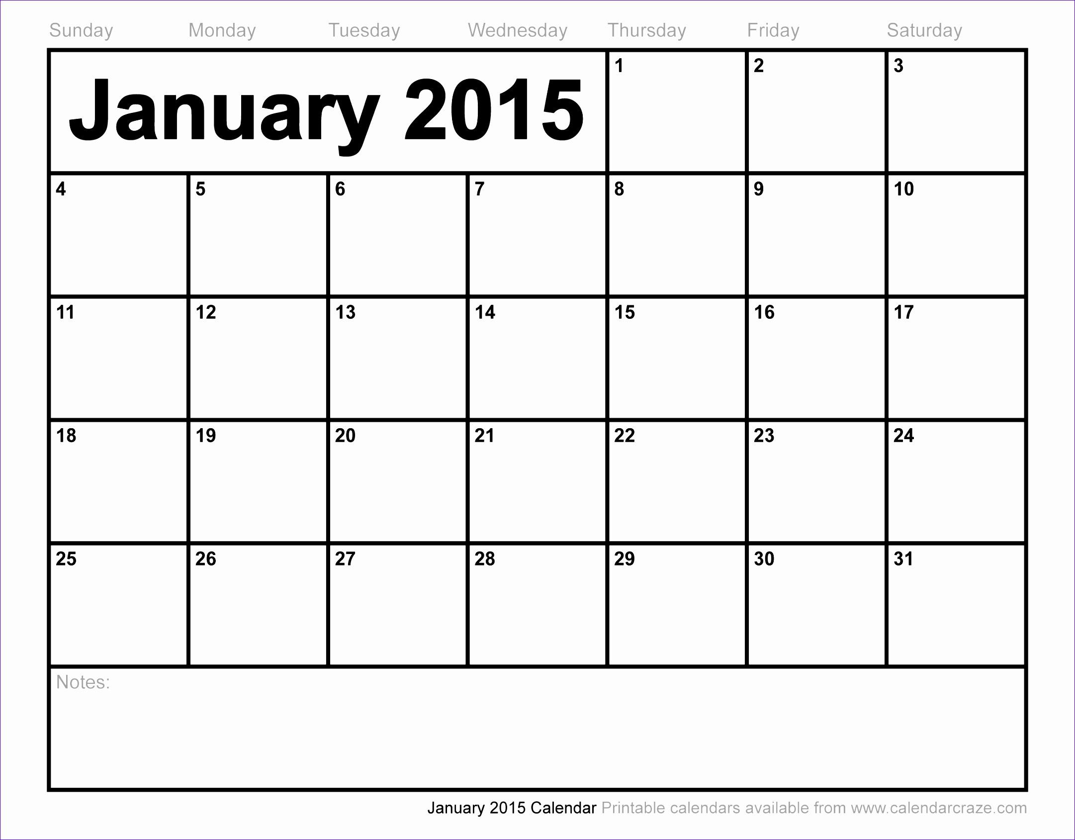 10 Calendar Templates Excel