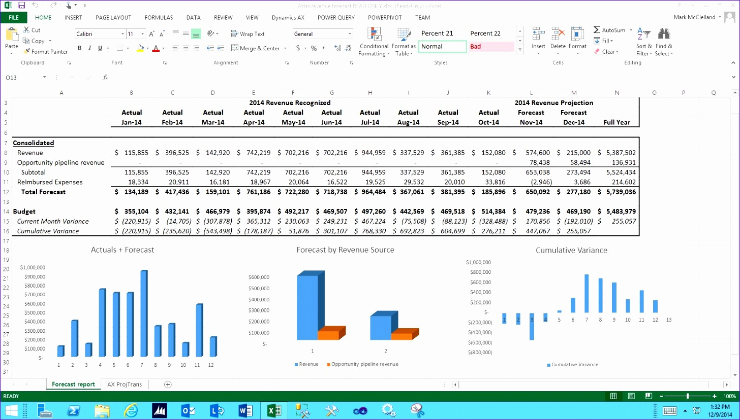 8 Daily Cash Flow Excel Template