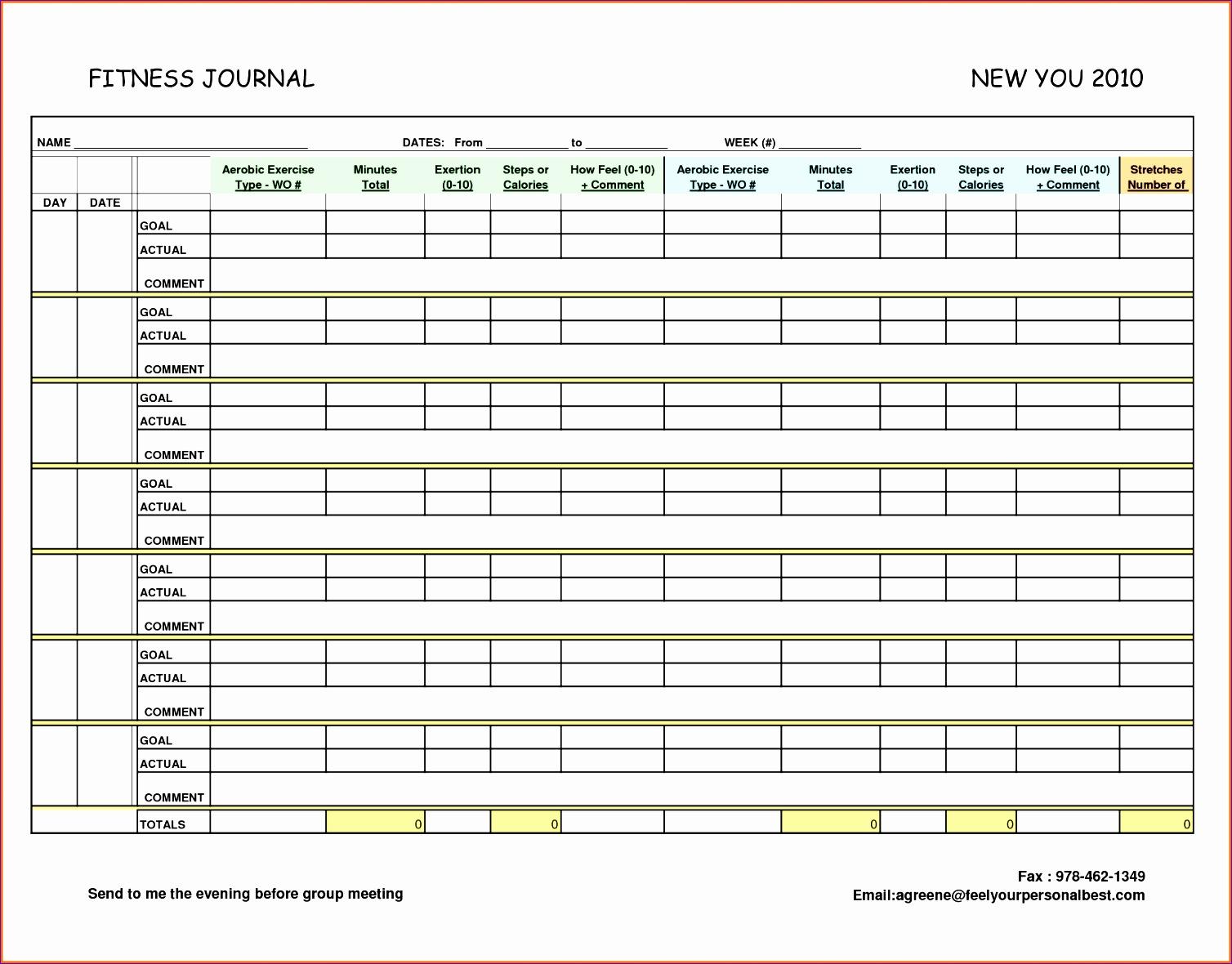 10 Excel Calendar Template