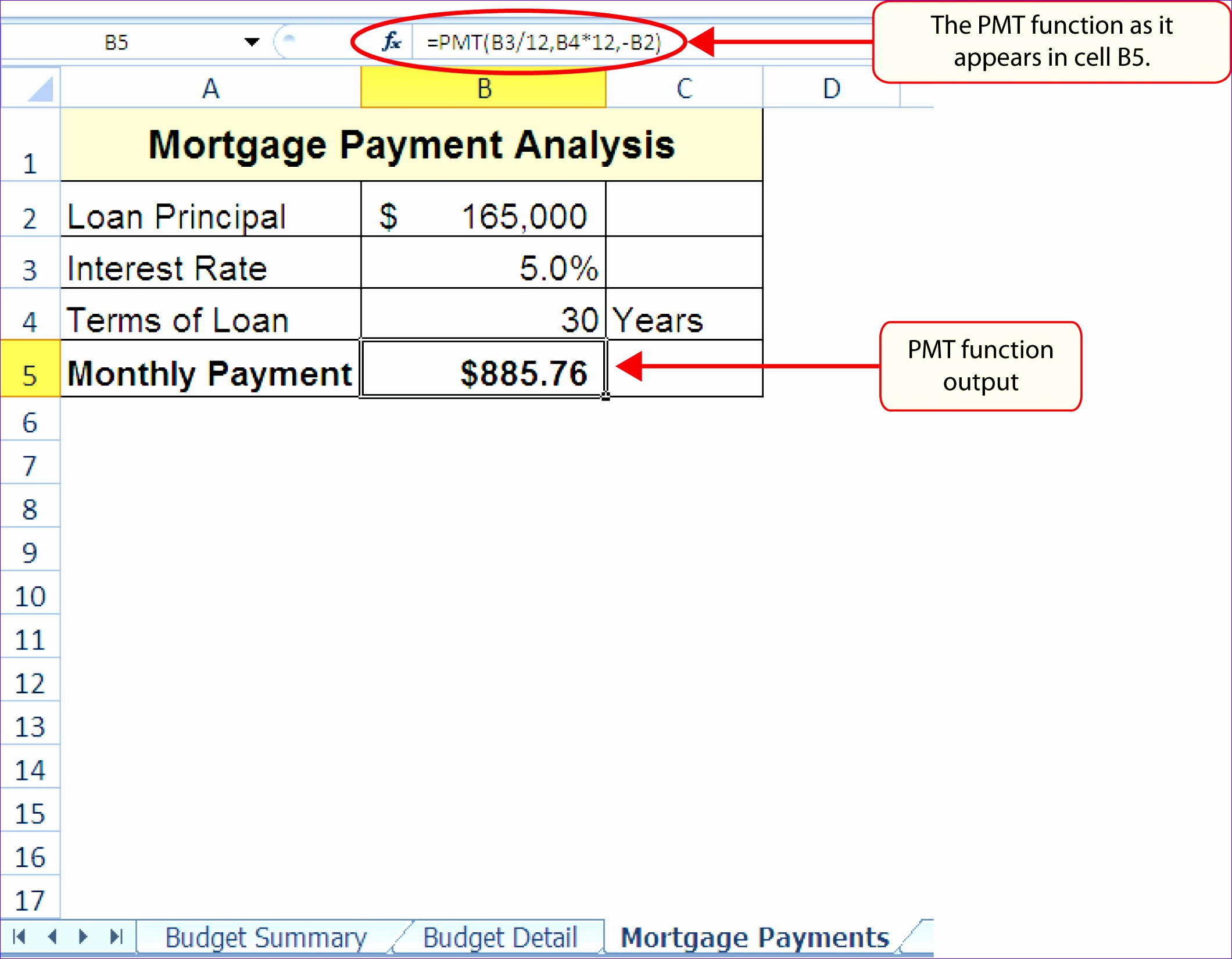 8 Excel Loan Payment Template