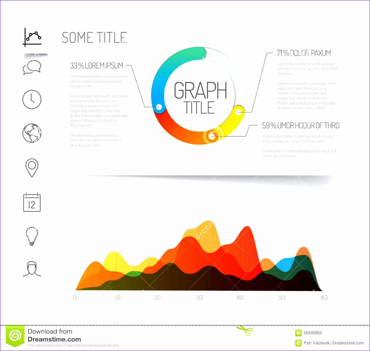 5 Excel Stock Chart Template