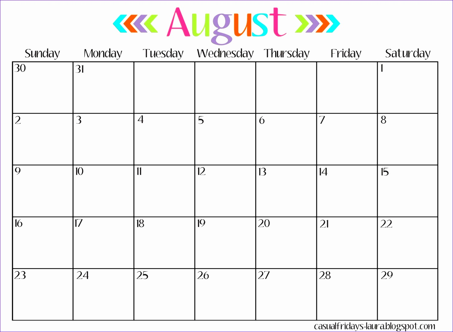 10 Free Calendar Templates Excel