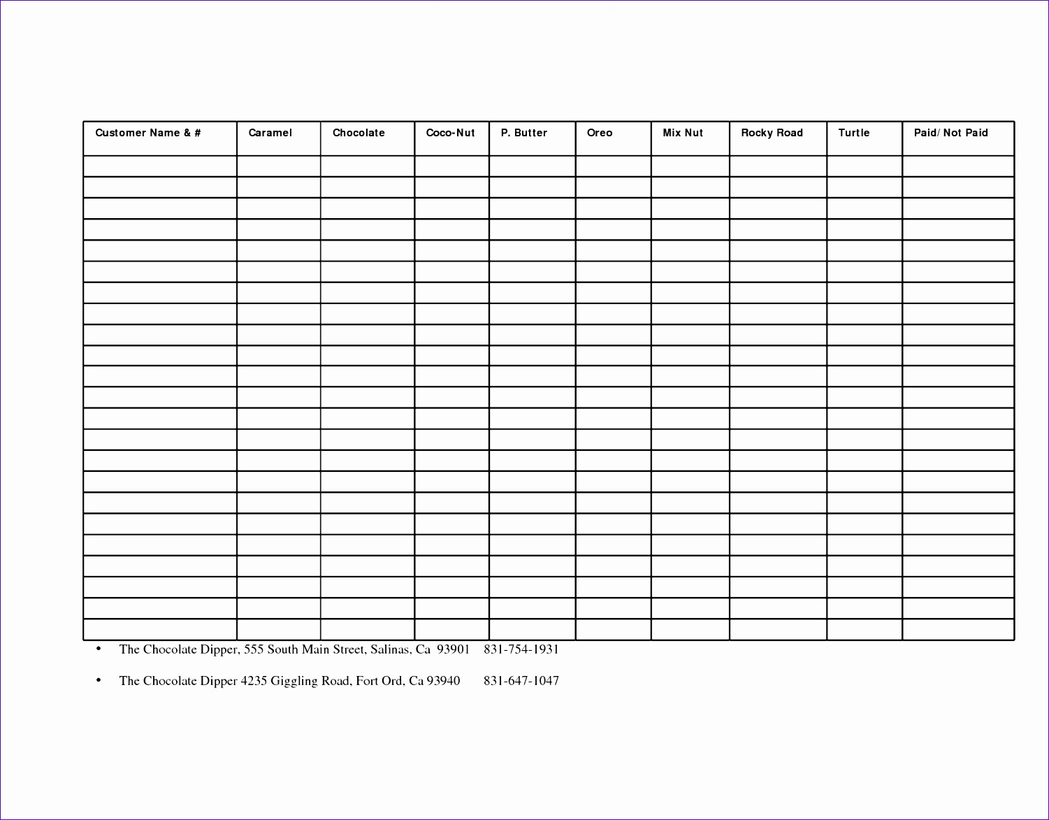 6 Fundraising Template Excel