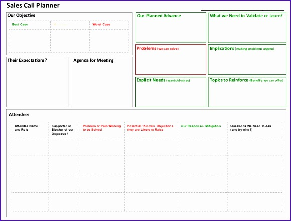 11 Goal Setting Template Excel