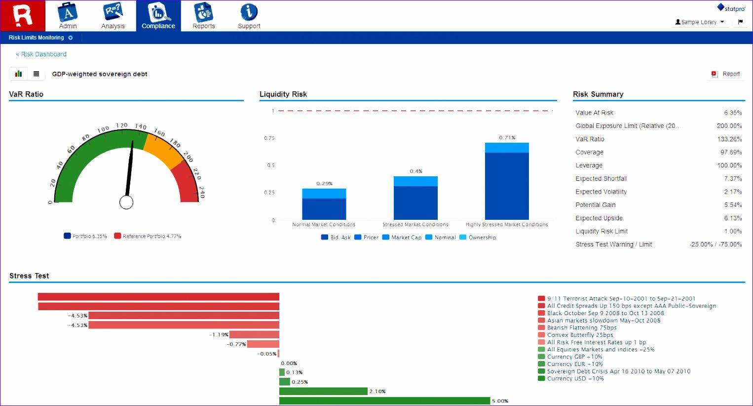 6 Investment Portfolio Excel Template