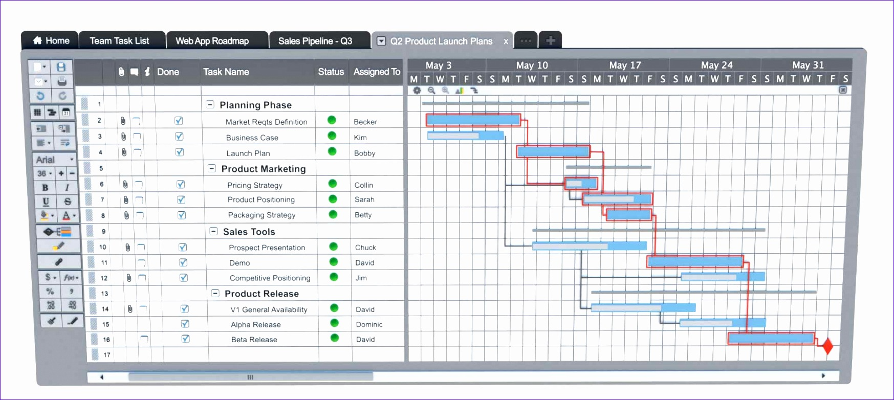 10 Project Manager Excel Template