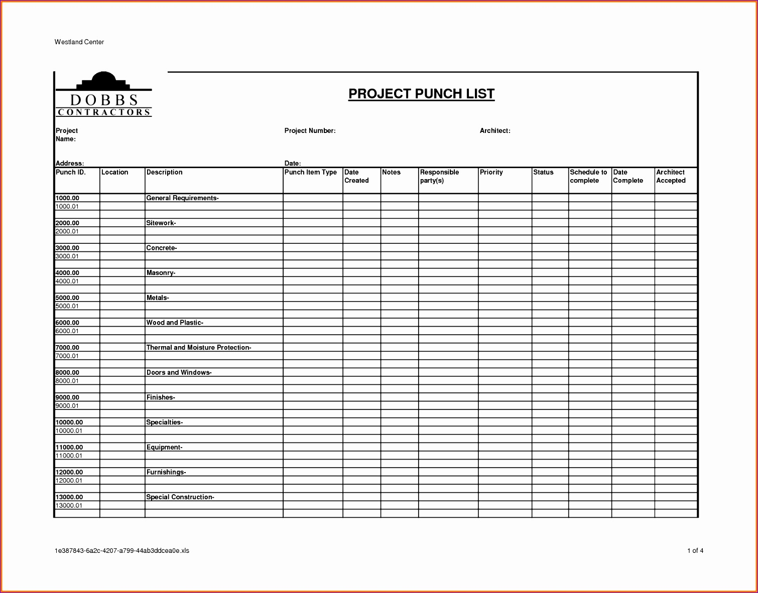 10 Risk Assessment Template Excel