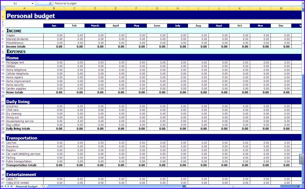 14 Excel Worksheet Template