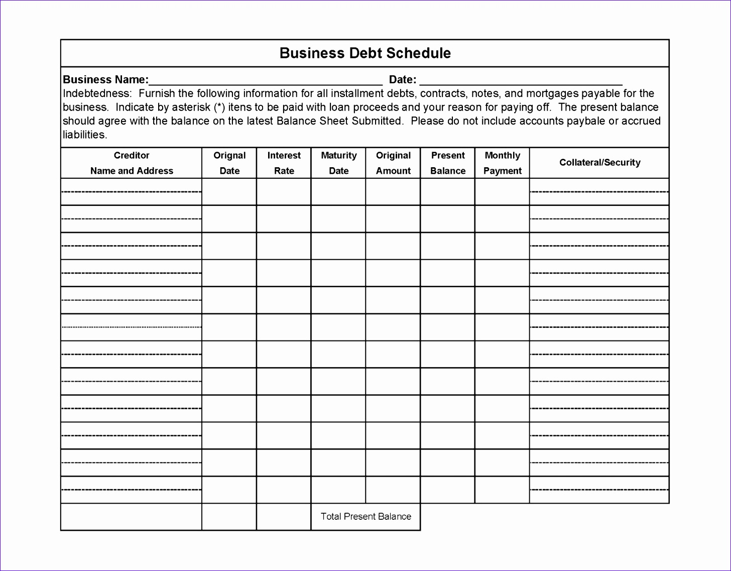 7 Thermometer Template Excel