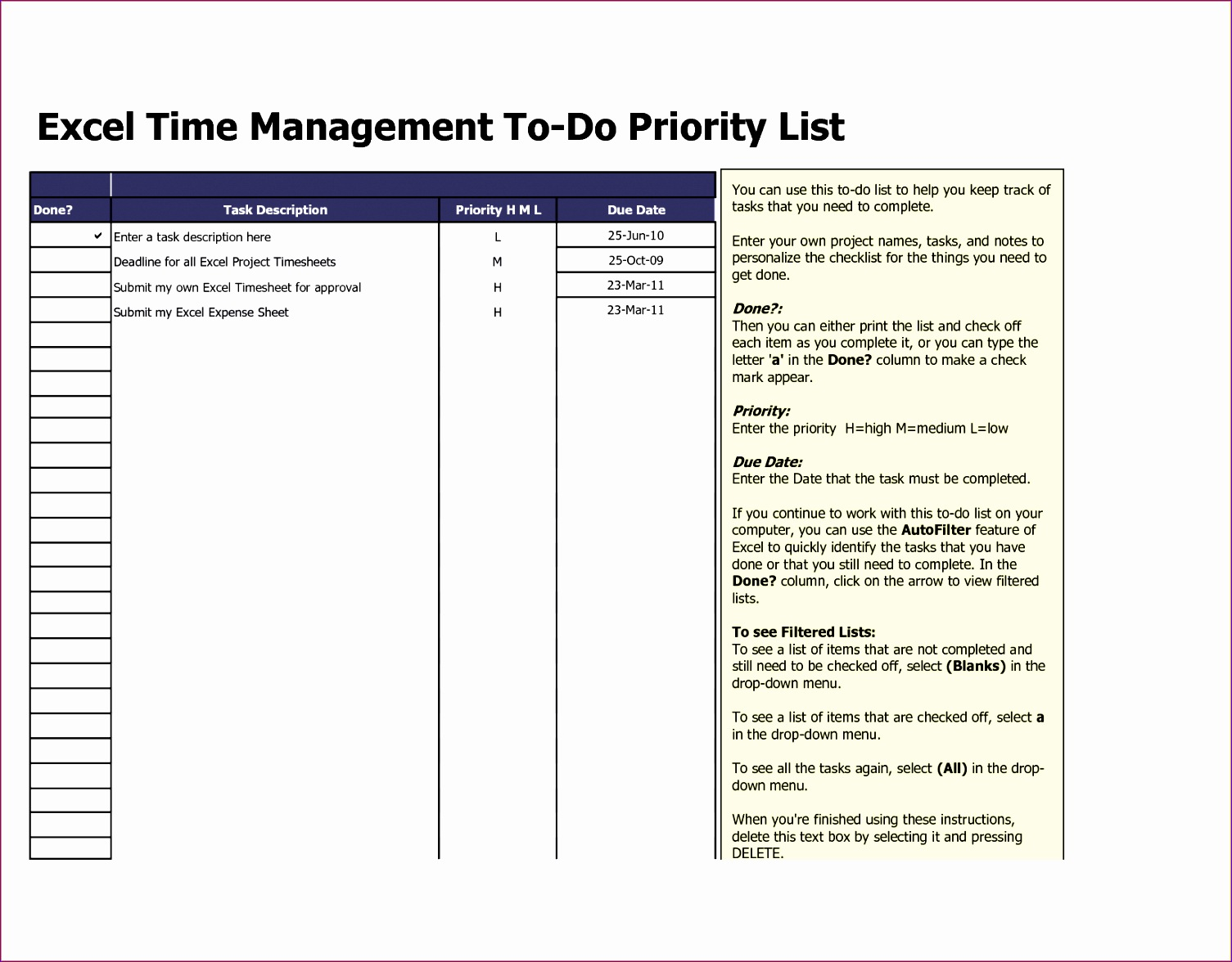 9 Work Plan Templates Excel