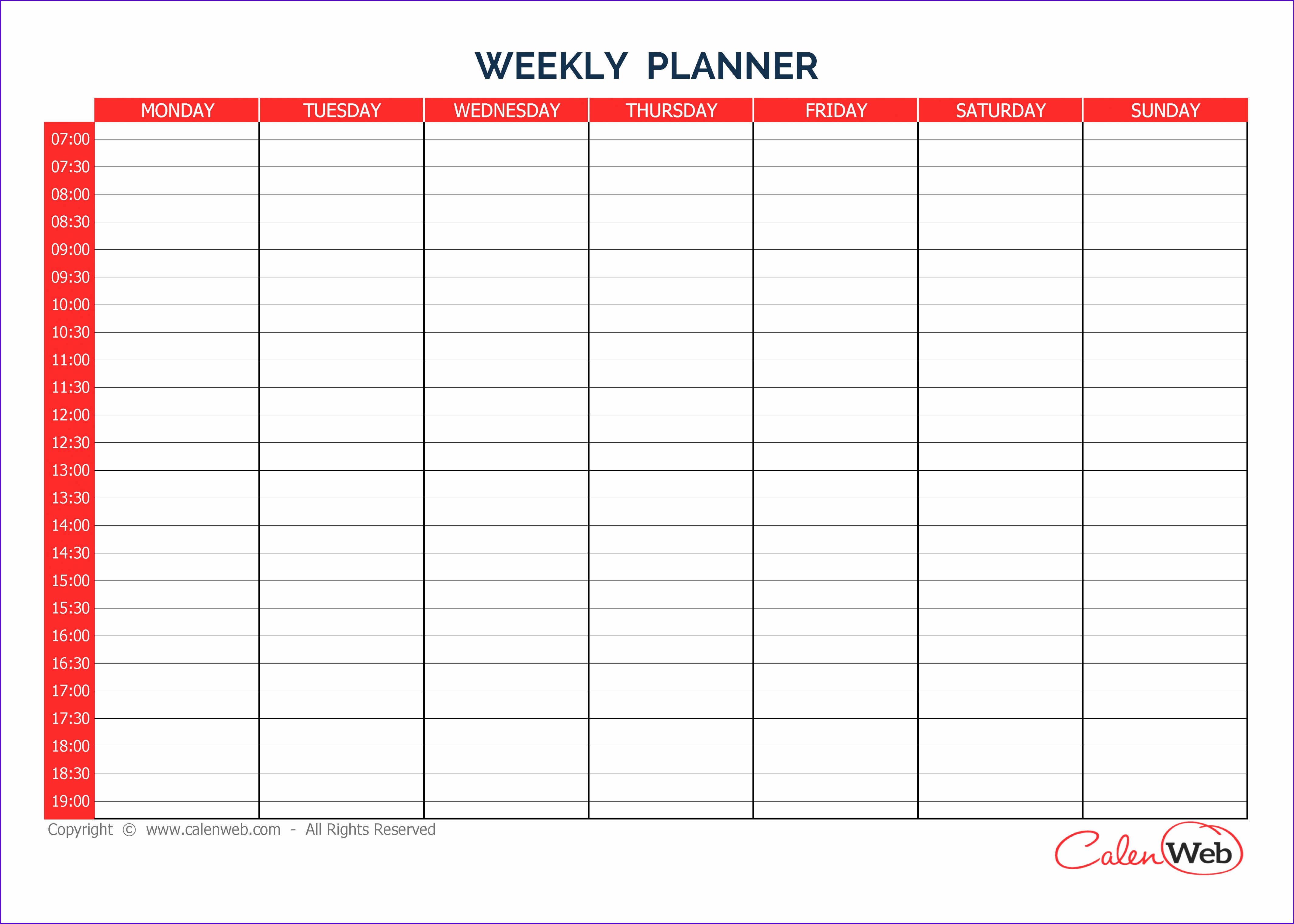 5 Food Journal Template Excel
