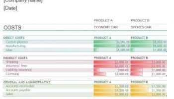 production tracking template excel