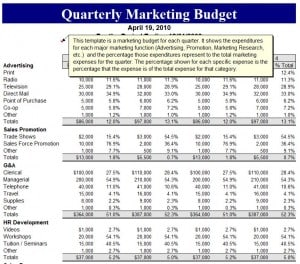 law firm budget excel